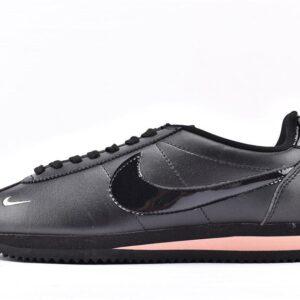 Nike Wmns Classic Cortez Premium Black Rose Gold 1