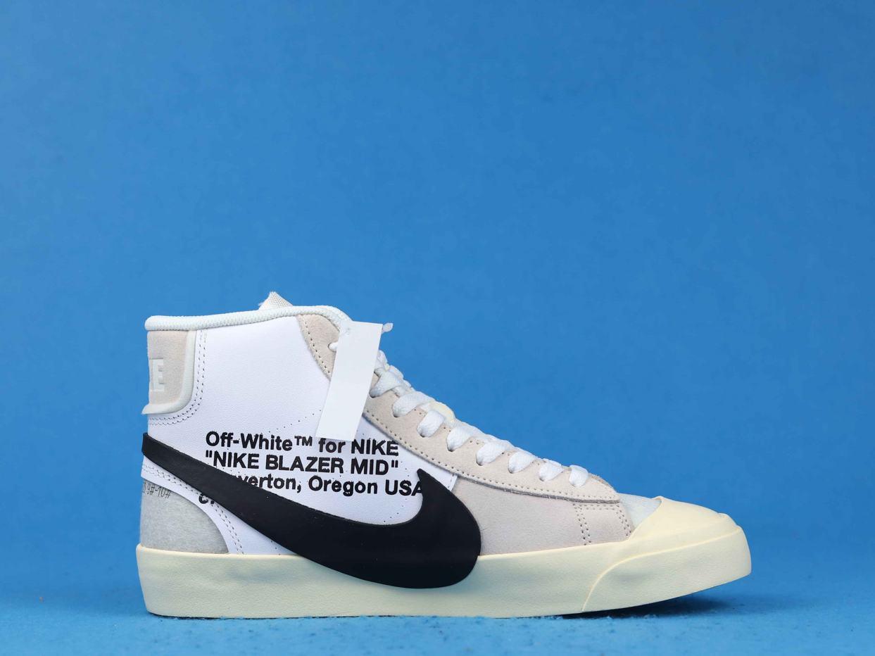 OFF WHITE x Blazer Mid The Ten 2