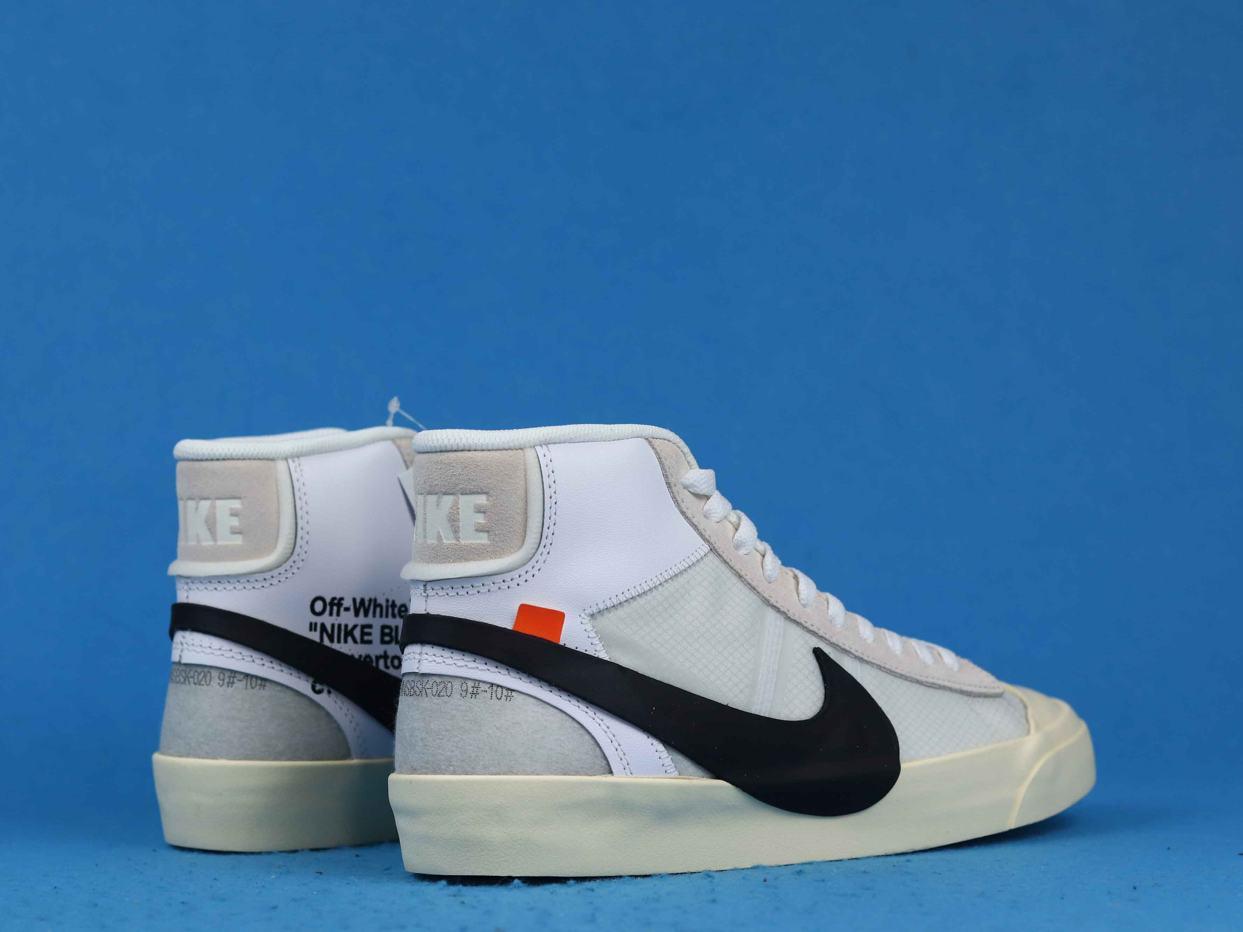 OFF WHITE x Blazer Mid The Ten 7