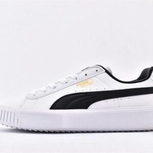 Puma Breaker Leather White Black 1