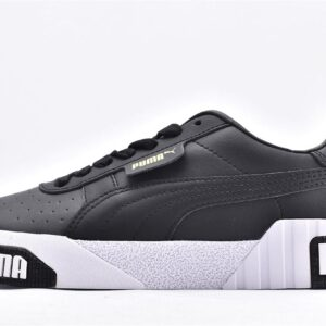 Puma Wmns Cali Bold Black Metallic Gold 1