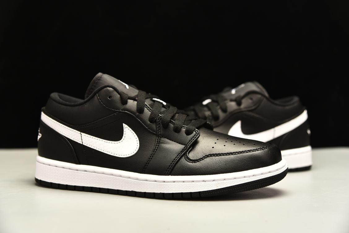 Wmns Air Jordan 1 Low Black 6
