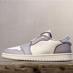 Wmns Air Jordan 1 Low Slip Atmosphere Grey 1