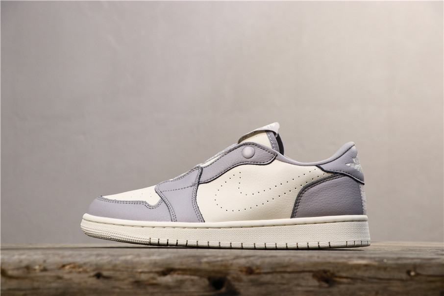Wmns Air Jordan 1 Low Slip Atmosphere Grey 1