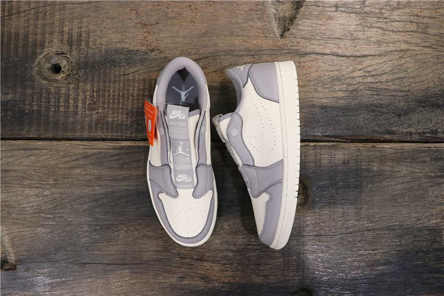 Wmns Air Jordan 1 Low Slip Atmosphere Grey 7