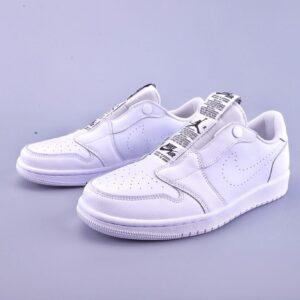 Wmns Air Jordan 1 Low Slip White 1