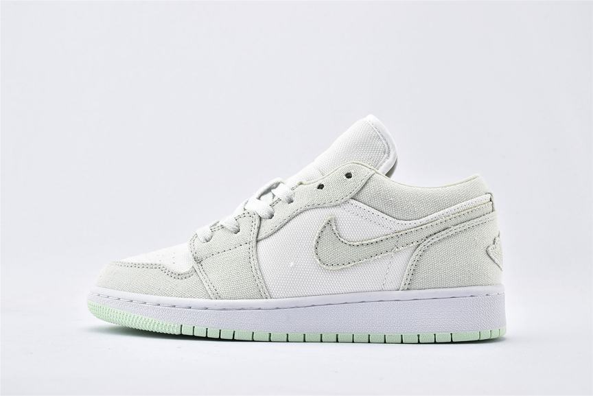 Wmns Air Jordan 1 Low Spruce Aura 1