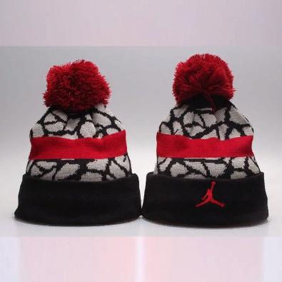 2019 Air Jordan Black Red Hat