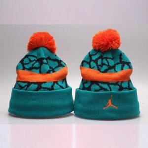 2019 Air Jordan Green Orange Hat