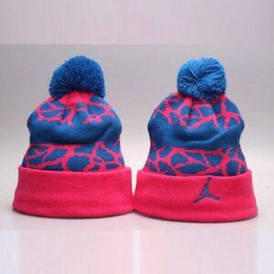 2019 Air Jordan Pink Blue Hat