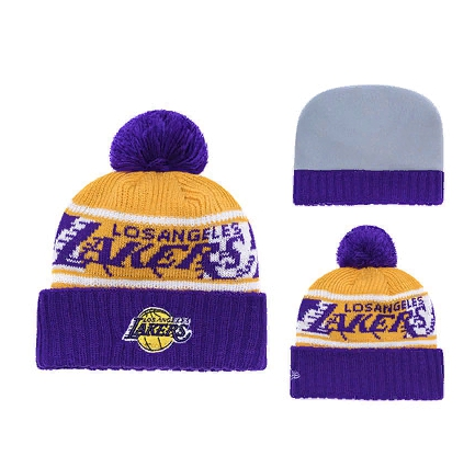 2019 Los Angeles Lakers Blue Yellow Hat