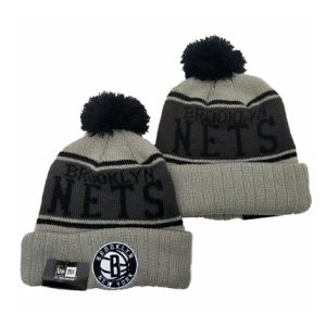 2019 New Era NBA Brooklyn Nets Grey Hat