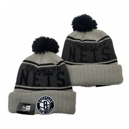 2019 New Era NBA Brooklyn Nets Grey Hat