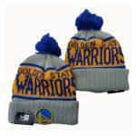 2019 New Era NBA Warriors Grey Hat