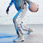 2020 BOK Basketball Button Pants Grey
