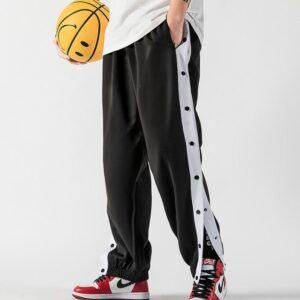 2020 William Marchi Basketball Button Pants Black 1