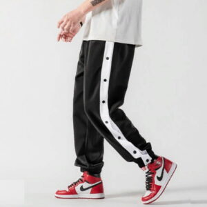 2020 William Marchi Basketball Button Pants Black