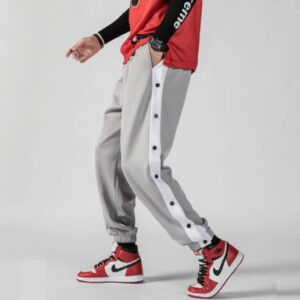 2020 William Marchi Basketball Button Pants Grey
