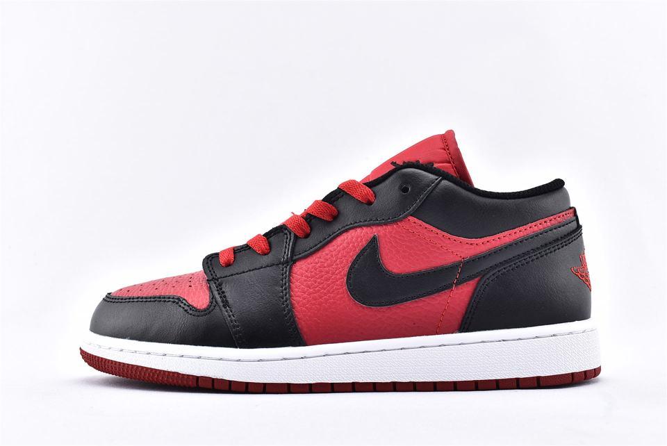 Air Jordan 1 Low BG Gym Red Black 1