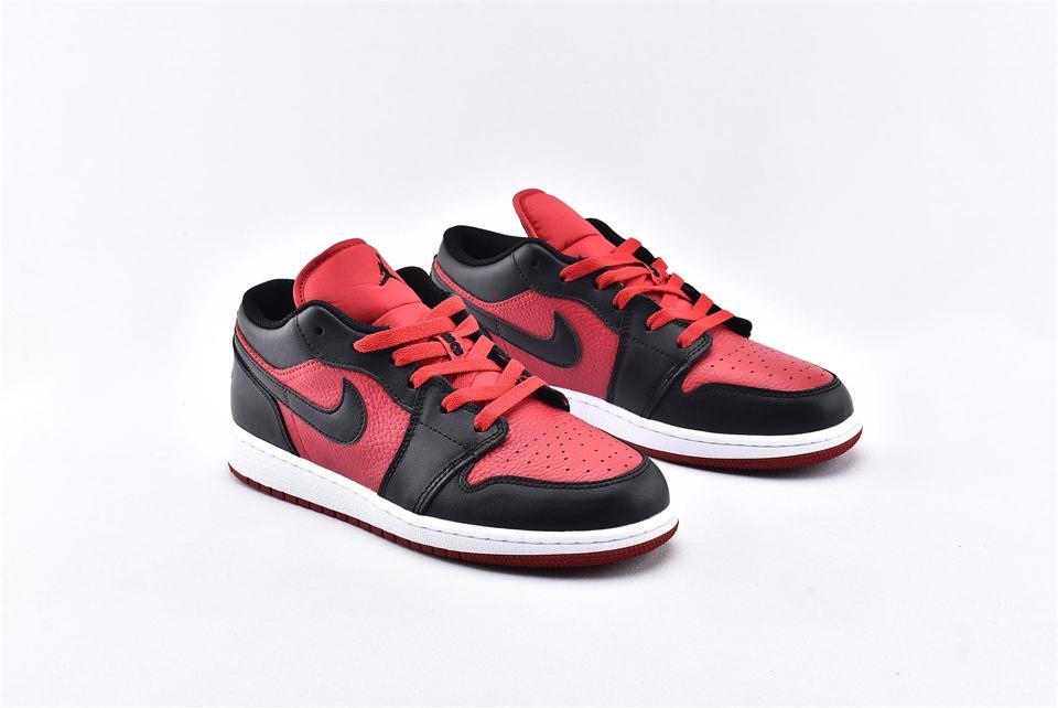 Air Jordan 1 Low BG Gym Red Black 2