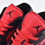 Air Jordan 1 Low BG Gym Red Black 4