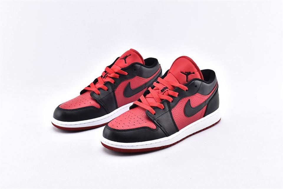 Air Jordan 1 Low BG Gym Red Black 5