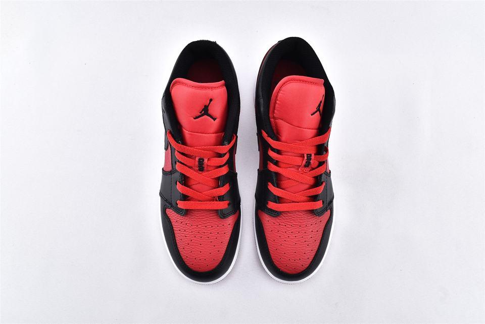 Air Jordan 1 Low BG Gym Red Black 6