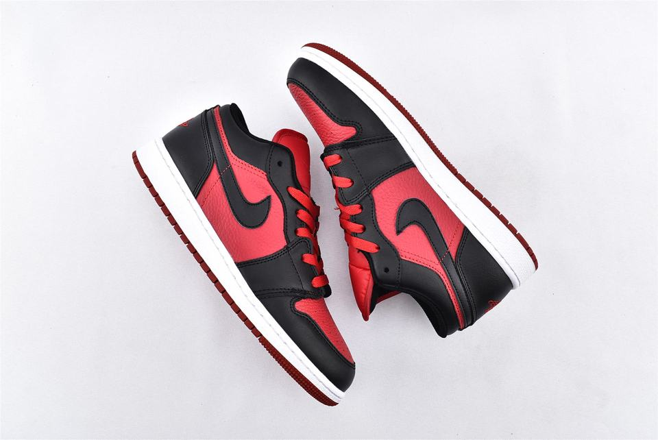 Air Jordan 1 Low BG Gym Red Black 7