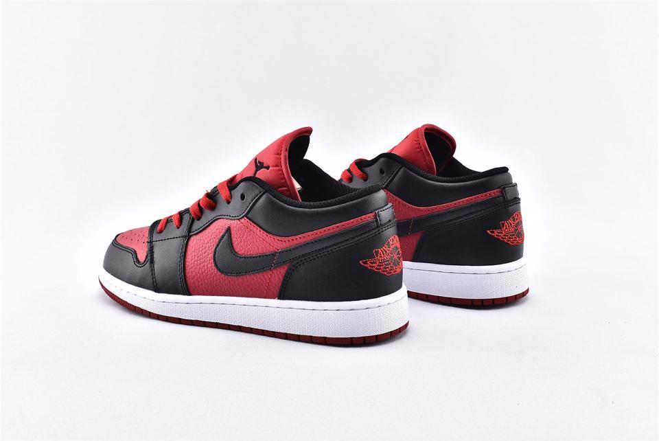 Air Jordan 1 Low BG Gym Red Black 9