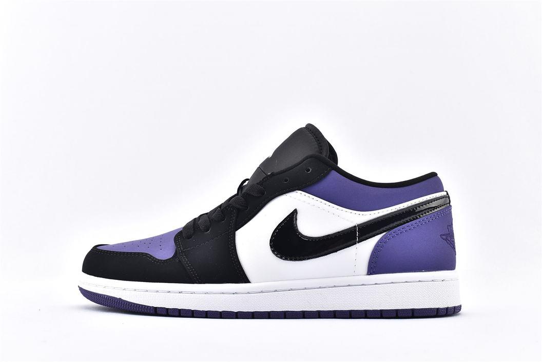Air Jordan 1 Low Court Purple 1