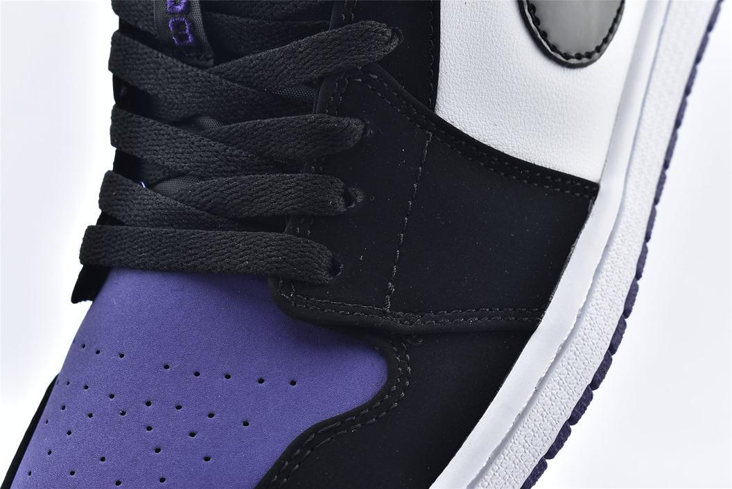 Air Jordan 1 Low Court Purple 10