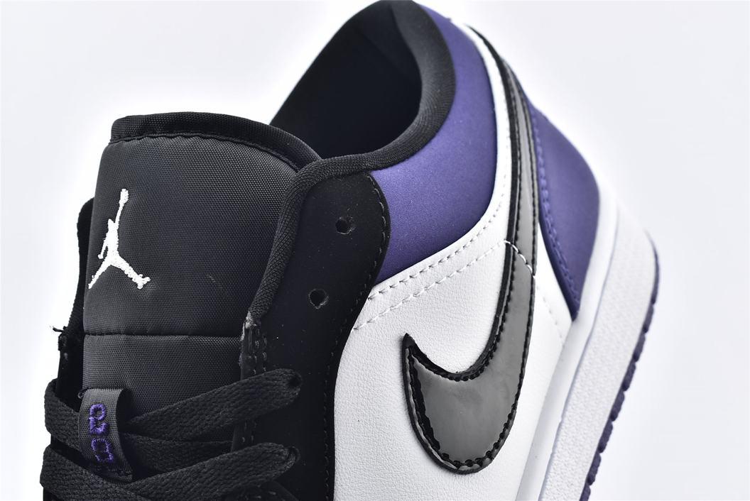 Air Jordan 1 Low Court Purple 11
