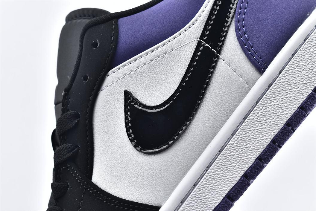 Air Jordan 1 Low Court Purple 12