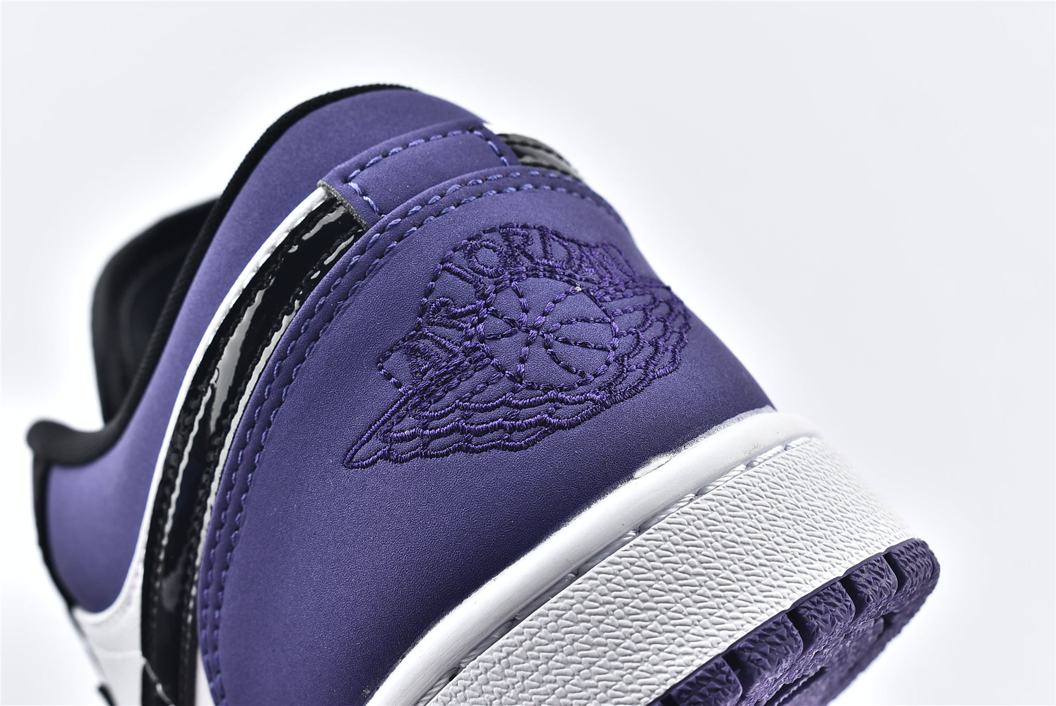 Air Jordan 1 Low Court Purple 13