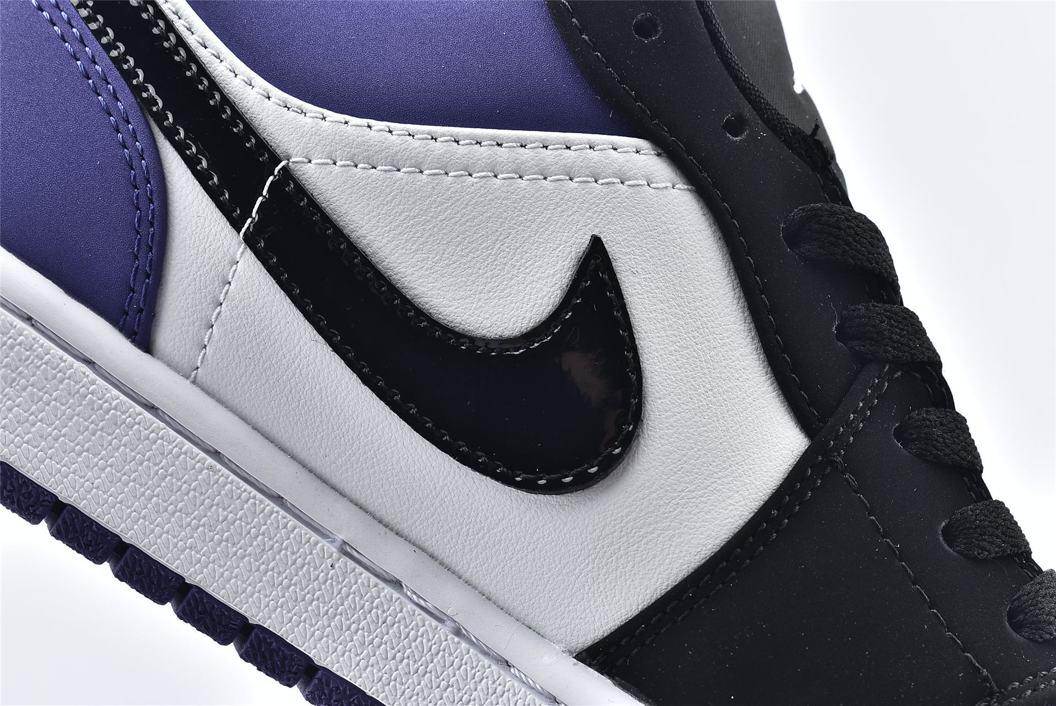 Air Jordan 1 Low Court Purple 14