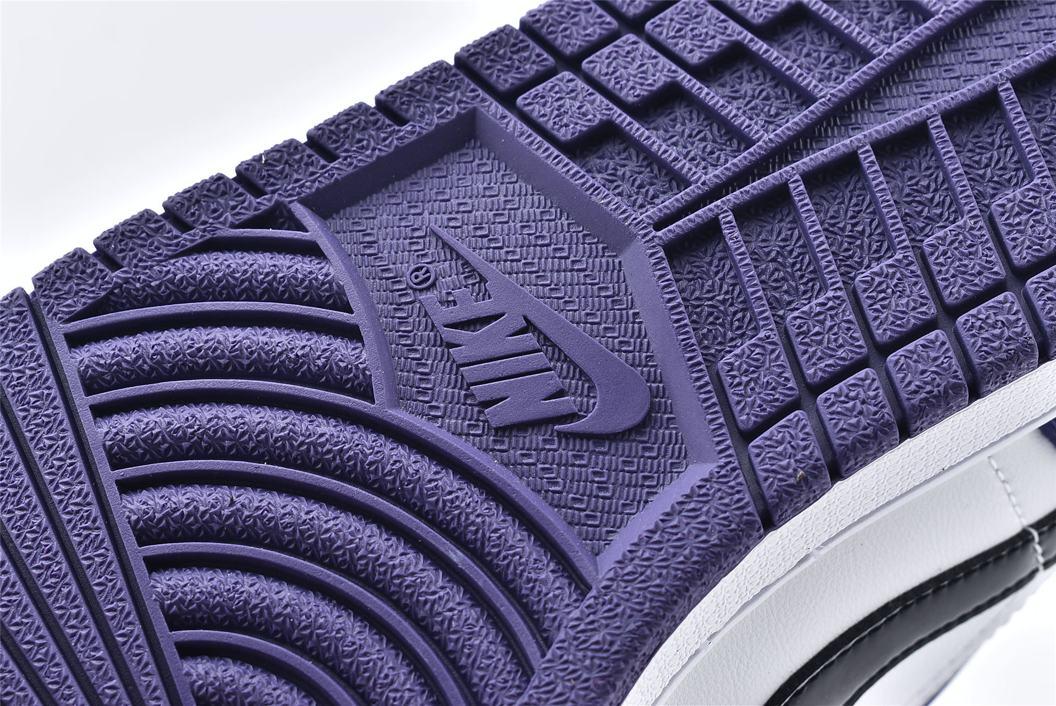 Air Jordan 1 Low Court Purple 15