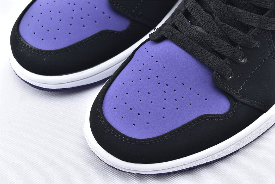 Air Jordan 1 Low Court Purple 3