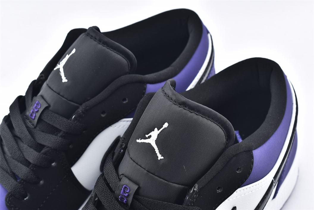 Air Jordan 1 Low Court Purple 4