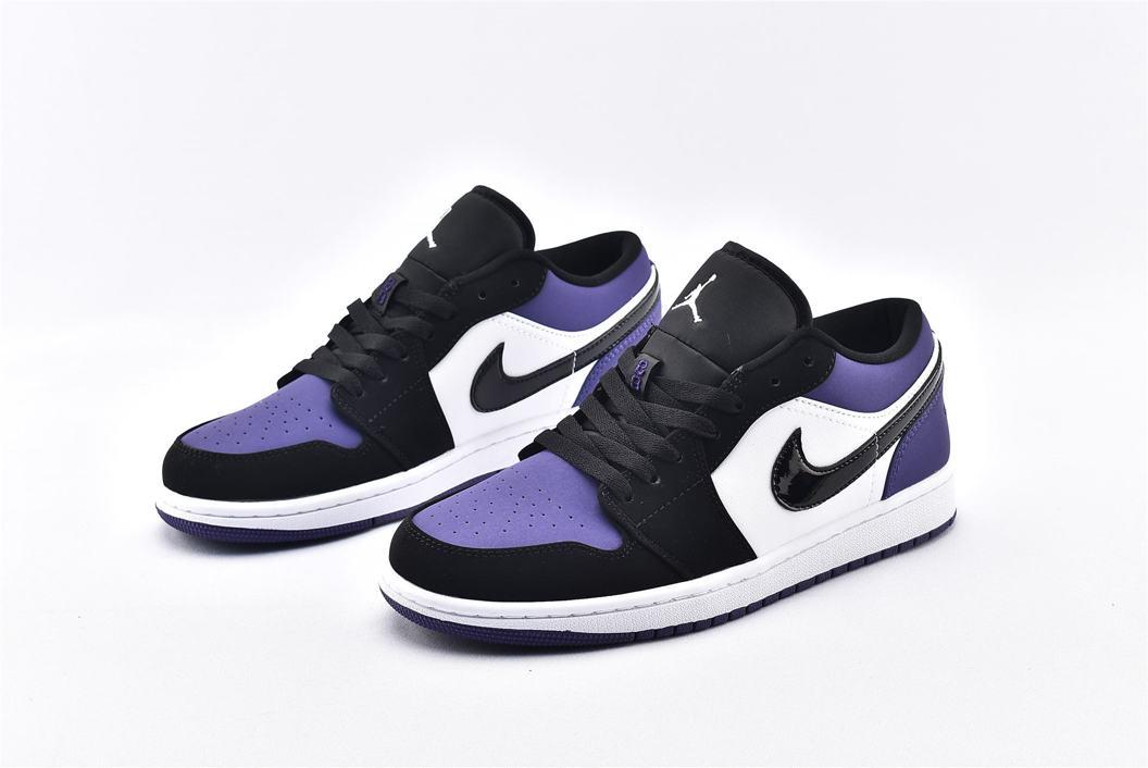 Air Jordan 1 Low Court Purple 5