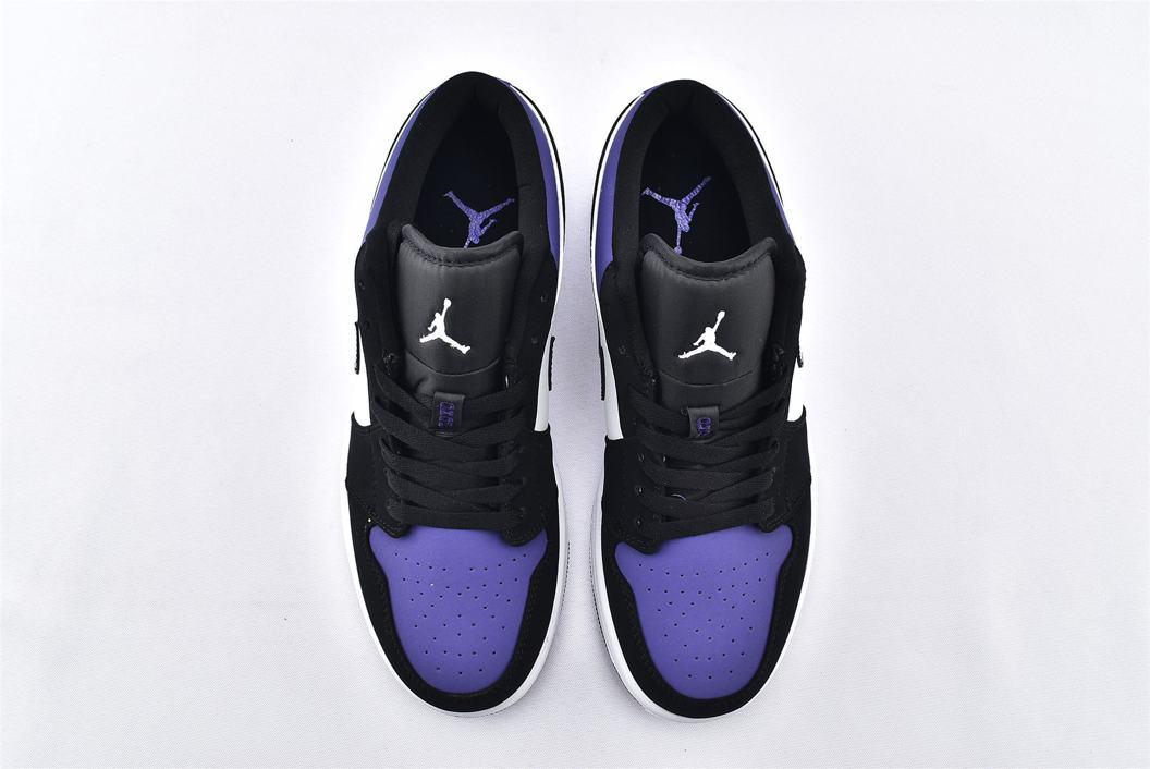 Air Jordan 1 Low Court Purple 6