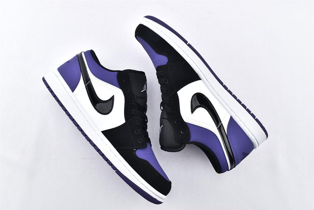 Air Jordan 1 Low Court Purple 7
