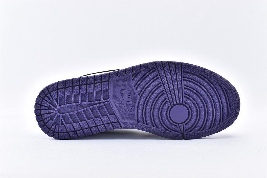 Air Jordan 1 Low Court Purple 8