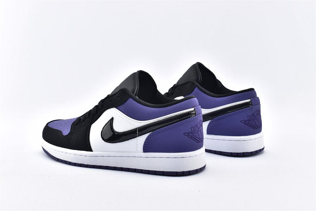 Air Jordan 1 Low Court Purple 9