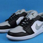 Air Jordan 1 Low GS Smoke Grey 4
