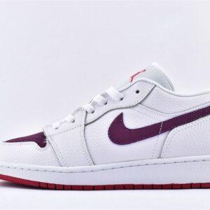 Air Jordan 1 Low GS White Berry 1