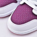 Air Jordan 1 Low GS White Berry 3