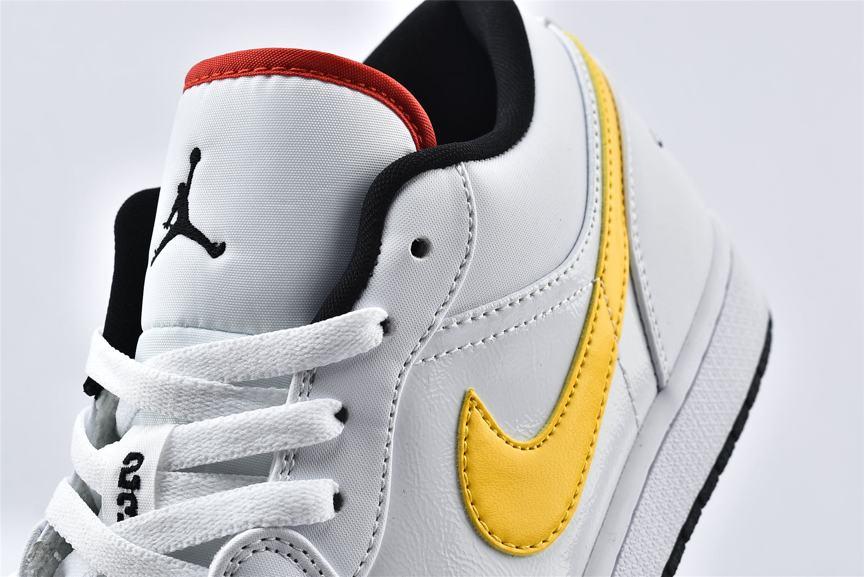 Air Jordan 1 Low Multi Color Swoosh 10