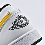 Air Jordan 1 Low Multi Color Swoosh 12