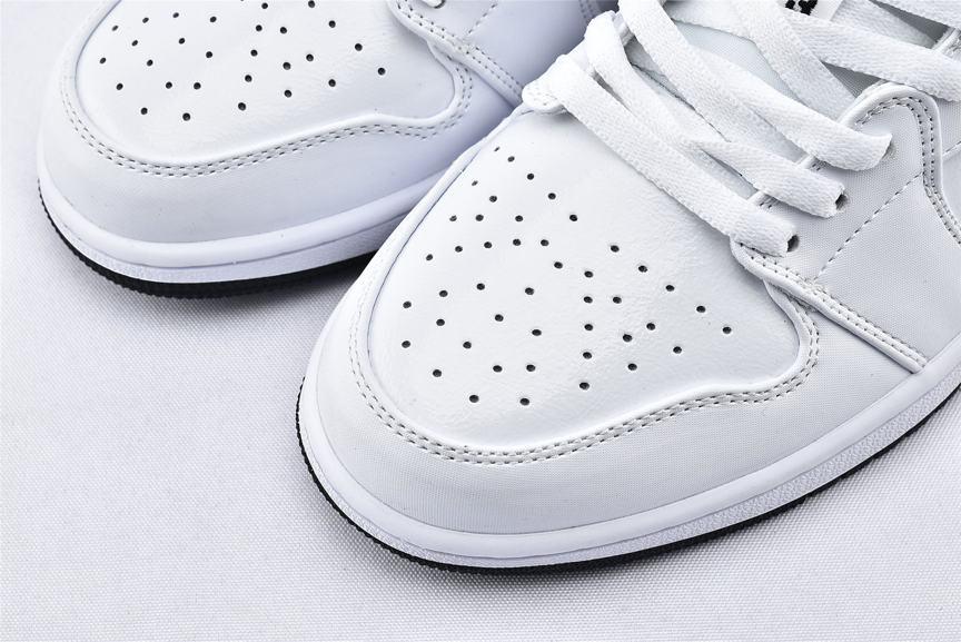 Air Jordan 1 Low Multi Color Swoosh 3