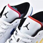 Air Jordan 1 Low Multi Color Swoosh 4